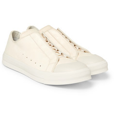 Alexander McQueen Textured-Leather Sneakers