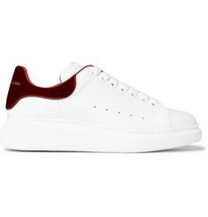 Alexander McQueen Larry Exaggerated-Sole Leather Sneaker