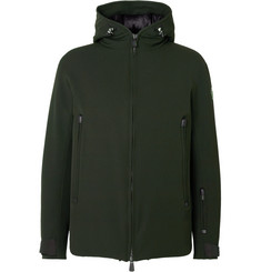 Moncler Grenoble Praz Stretch-Twill Hooded Down Ski Jacket