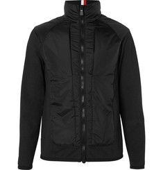 Moncler Grenoble Shell-Panelled Jersey Ski Jacket