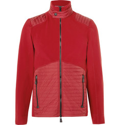 Moncler Grenoble Shell-Panelled Fleece Mid-Layer Jacket