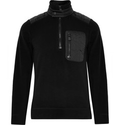 Moncler Grenoble Nylon-Panelled Fleece Ski Base Layer