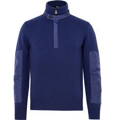 Moncler Grenoble Slim-Fit Shell-Trimmed Wool-Blend Ski Base Layer