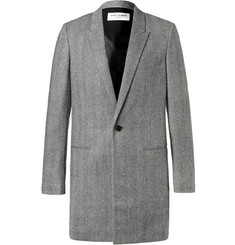 Saint Laurent - Herringbone Wool Coat