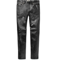 Saint Laurent - Skinny-Fit Leather Trousers