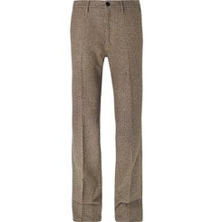Prada Virgin Wool-Tweed Trousers