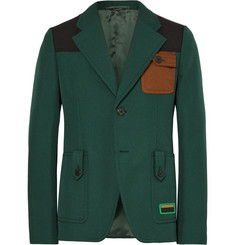 Prada Slim-Fit Colour-Block Twill Blazer