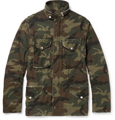 AMIRI M-65 Camouflage-Print Cotton-Canvas Field Jacket