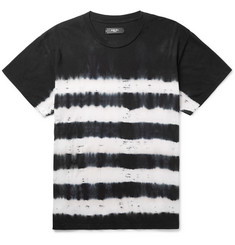 AMIRI Distressed Tie-Dyed Cotton-Jersey T-Shirt