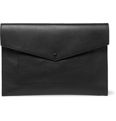 Dolce & Gabbana Full-Grain Leather Pouch