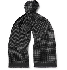 TOM FORD Polka-Dot Silk Scarf