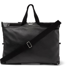 Saint Laurent Convertible Leather Holdall