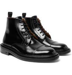 AMI - Polished-Leather Boots