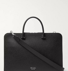 Prada - Cross-Grain Leather Briefcase