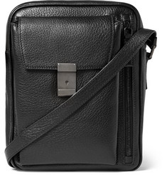 Prada Full-Grain Leather Messenger Bag