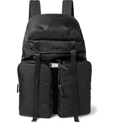 Prada - Saffiano Leather-Trimmed Nylon Backpack