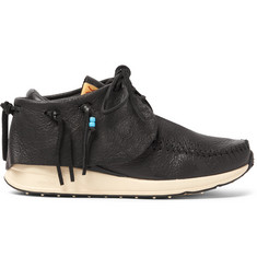 visvim FBT Full-Grain Leather Sneakers
