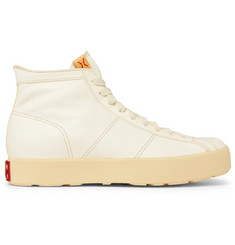 visvim Foley Folk Leather High-Top Sneakers
