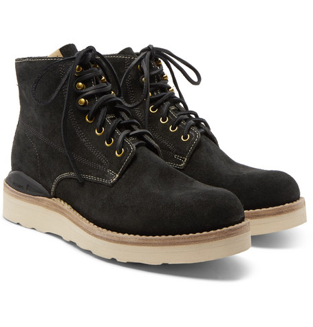 Virgil Suede Boots - BlackVisvim