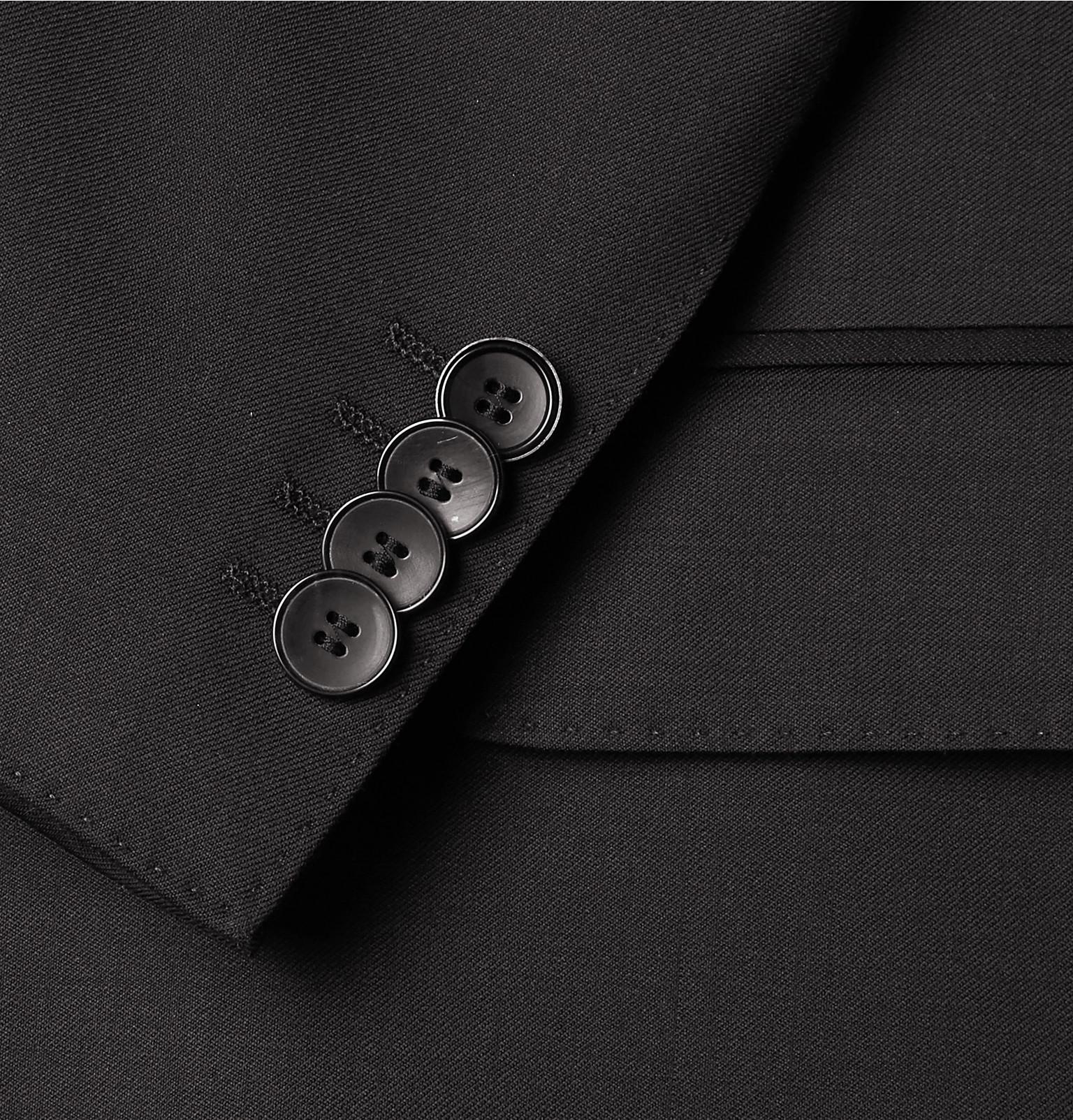 001199d6 Hugo Boss - Black Hayes Slim-Fit Super 120s Virgin Wool Suit Jacket
