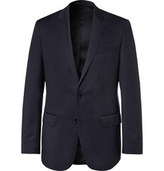 Hugo Boss - Blue Hayes Slim-Fit Super 120s Virgin Wool Suit Jacket