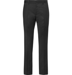 Hugo Boss - Grey Gibson Slim-Fit Virgin Wool Suit Trousers