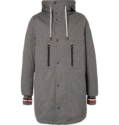 Moncler Gamme Bleu - Faux Shearling-Lined Cotton-Blend Twill Down Coat