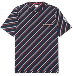Moncler Gamme Bleu - Striped Cotton-Jersey T-Shirt
