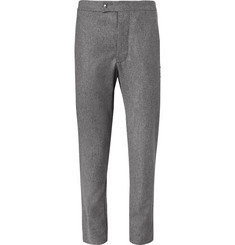 Moncler Gamme Bleu Slim-Fit Felted Wool Trousers