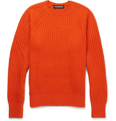 Neil Barrett Ribbed Wool-Blend Sweater