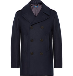 Polo Ralph Lauren - Double-Breasted Virgin Wool-Blend Peacoat