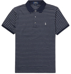 Polo Ralph Lauren Striped Stretch-Cotton Polo Shirt