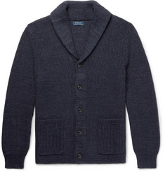 Polo Ralph Lauren Shawl-Collar Ribbed Cotton Cardigan