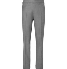 Kingsman Harry's Light-Grey Wool Suit Trousers