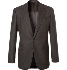 Kingsman Champ's Statesman Brown Wool Western Jacket