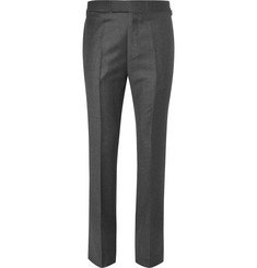 Kingsman Merlin's Wool-Flannel Trousers