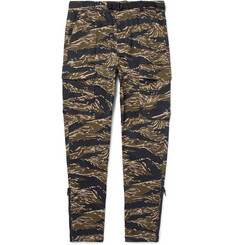 Nike NikeLab Tapered Camouflage-Print Stretch-Twill Trousers
