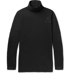 Nike NikeLab ACG Cotton-Blend Jersey Rollneck T-Shirt