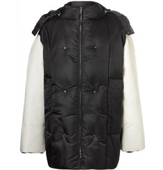 Raf Simons Oversized Shell Hooded Down Jacket