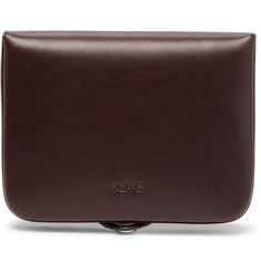 A.P.C. Josh Leather Card and Coin Wallet