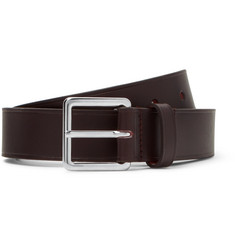 A.P.C. - 3cm Brown Leather Belt
