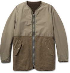 visvim Longliner Reversible Cotton-Canvas and Wool-Blend Jacket