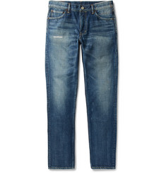 visvim Social Sculpture 03 Slim-Fit Distressed Denim Jeans