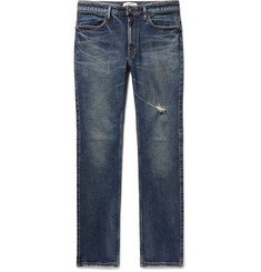 nonnative Dweller Slim-Fit Distressed Stretch-Denim Jeans