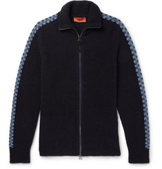 Missoni Bouclé-Knit Zip-Up Sweater