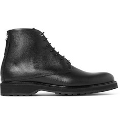WANT LES ESSENTIELS Montoro Pebble-Grain Leather Boots