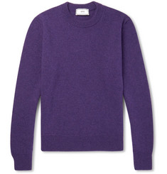 AMI Mélange Wool Sweater