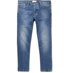 AMI - Tapered Cropped Denim Jeans