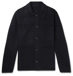 AMI - Wool and Cashmere-Blend Jacket