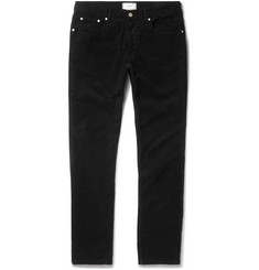 AMI - Slim-Fit Stretch-Cotton Corduroy Trousers